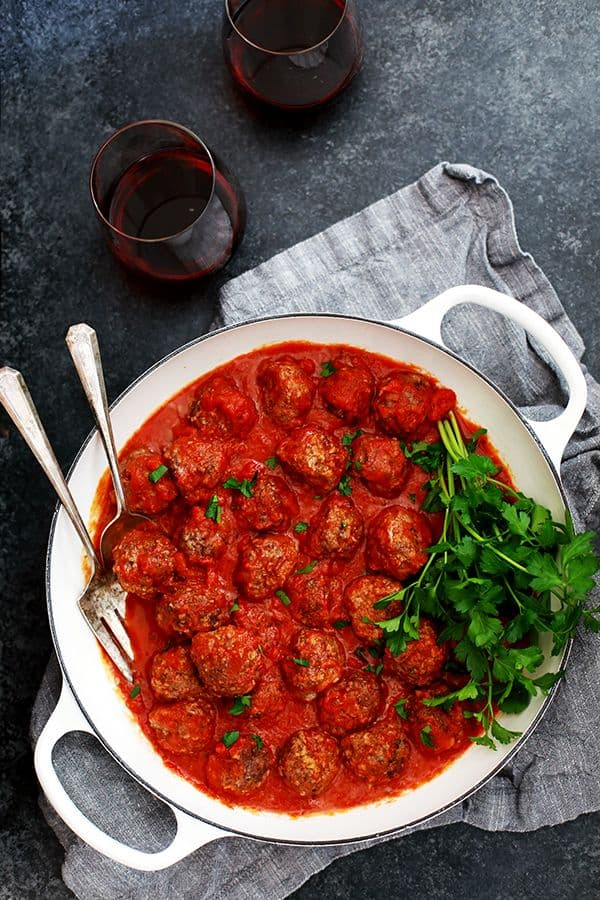 Easy Baked Meatballs