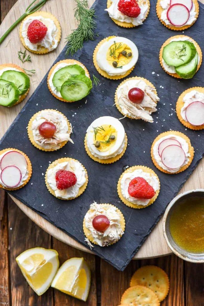 5 Minute Ritz Cracker Appetizers