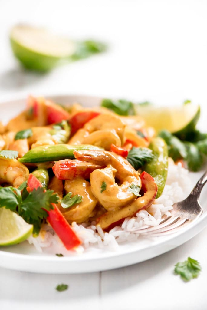 Easy Thai Shrimp Curry