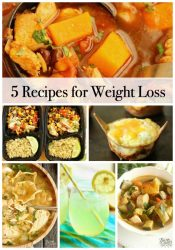 5 Recipes for Weight Loss - Healthy recipe ideas to help you stay diet-friendly this week!