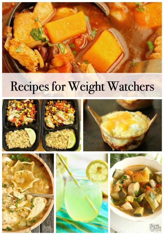 Recipes for Weight Loss - Healthy recipe ideas to help you stay diet-friendly this week!  Several of these are great weight watchers friendly recipes as well!