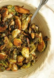 Best Ever Brussels - Take your brussels sprouts to the next level with soy sauce, balsamic capers, butter, and spices. These just may make you a serious brussels fan!