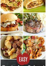 Easy Back-to-School Dinner Recipes