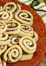 Apple Butter Cinnamon Swirl Cookies