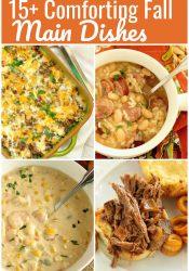 Comforting Fall Main Dish Recipes