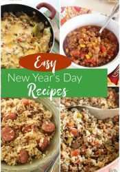 Easy New Year's Day Recipes - Here are a few of our favorite recipes that involve those lucky cabbage and black eyed peas!