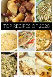 Top Recipes of 2020 - Check out the recipe favorites for the year we all stayed home and cooked!