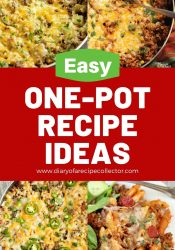 Easy One-Pot Recipes - Here are several quick and easy one-pot dinners that you will want to try soon!