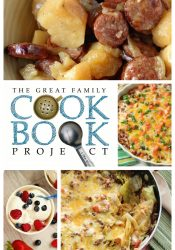 The Family Cookbook Project - Let's turn all those recipes you've been collecting into your very own family cookbook! Plus, take a look at the 5 recipes we can't miss in our cookbook!