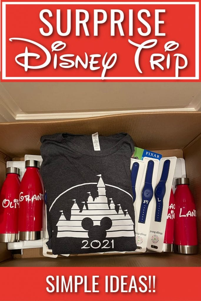 Surprise Disney Trip - How we pulled off the ultimate Disneyworld surprise trip...TWICE! Get inspired with some simple tips to make your Disney vacation one to remember!