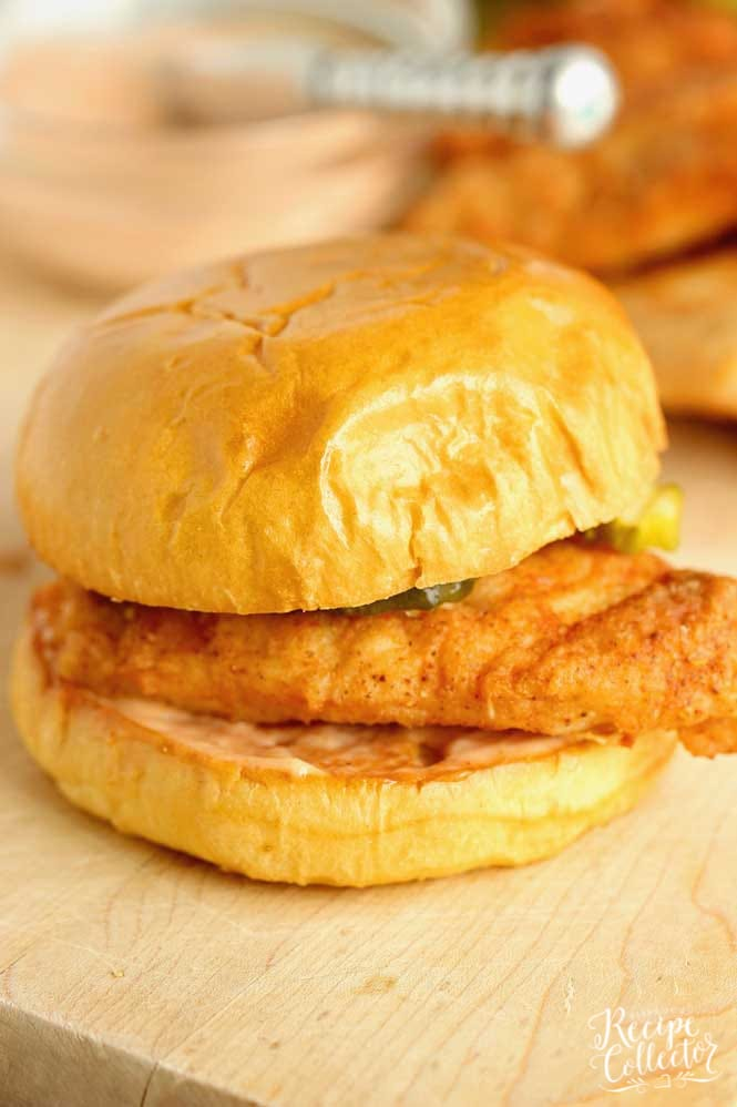 Easy Cajun Fried Chicken Sandwiches - These little chicken sandwiches are a winner chicken dinner for sure! They are easy to prep and come with a delicious Cajun sauce!