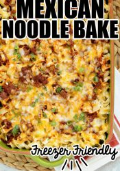 Mexican Noodle Bake